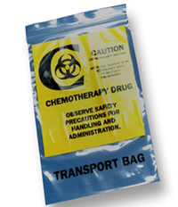 Chemo Transfer Bag Re-Sealable Baggies