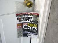 Home Delivery Doorknob Bags